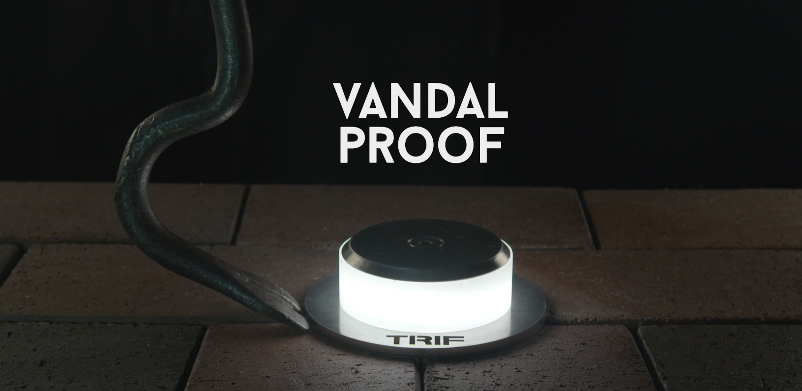 Vandal proof lamps from the company TRIF