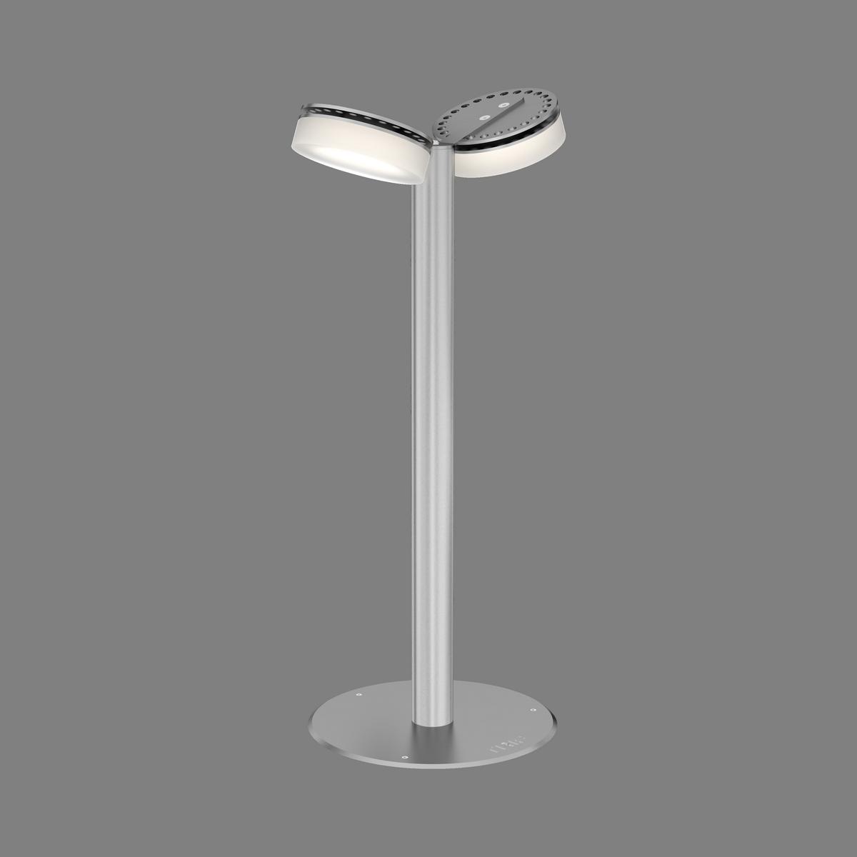 Светодиодные уличные светильники для дачи на ножке TRIF OLIVA DUO