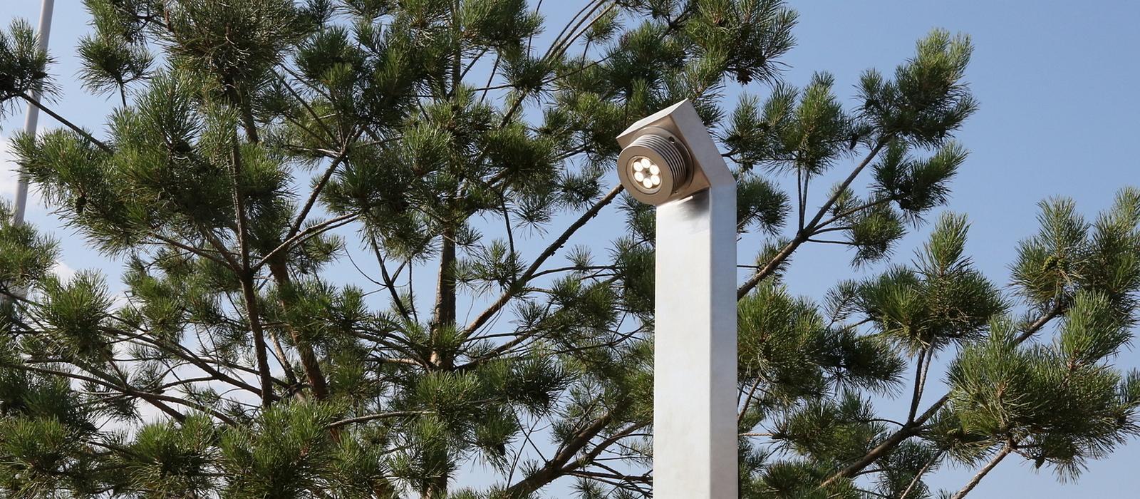 Светодиодная опора освещения TRIF на заказ