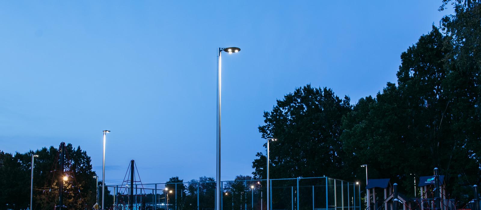 Светодиодная led опора освещения IP69K
