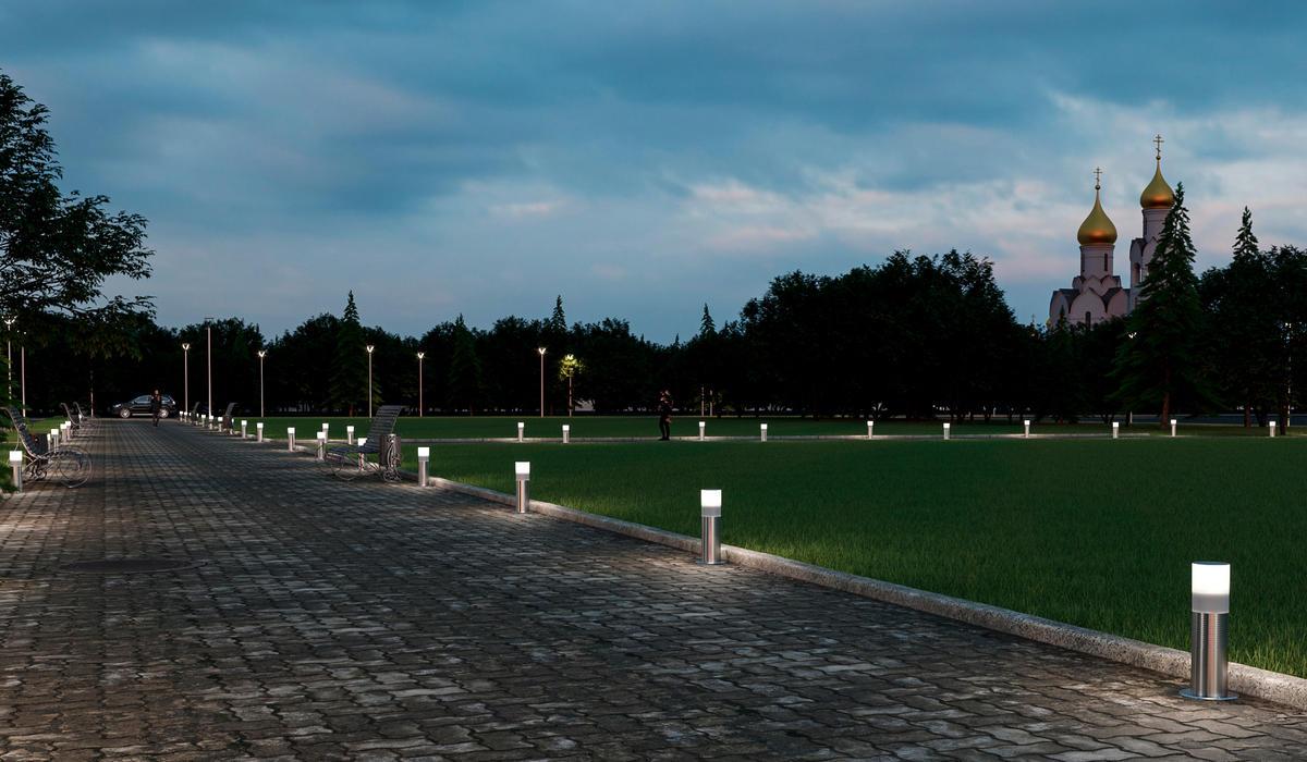 Светильник для ландшафтной подсветки TRIF CANDLE SHORT
