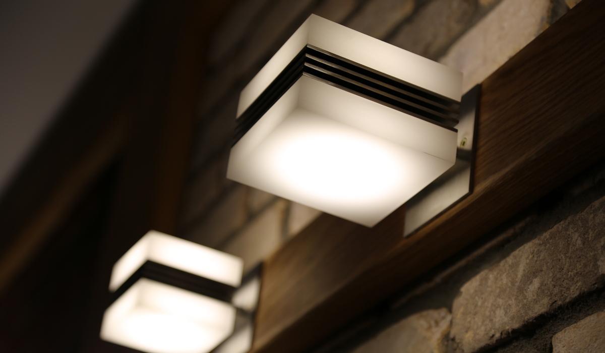 TRIF CUBE-UP-DOWN водонепроницаемый наружный светильник