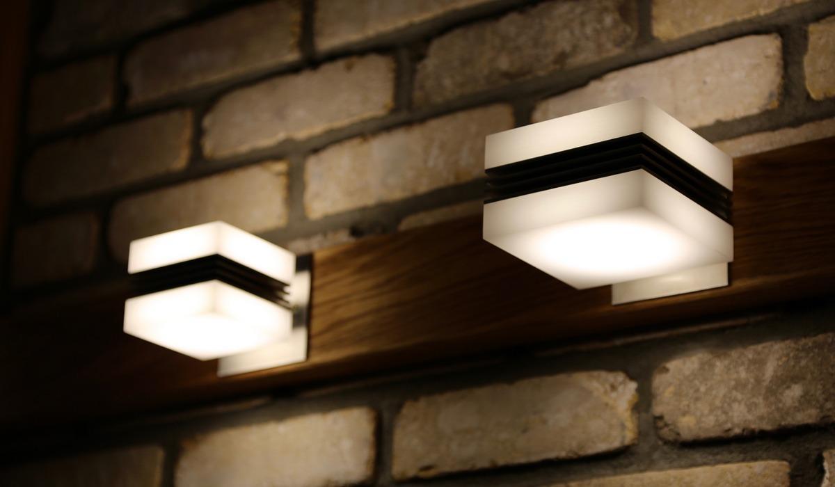 CUBE-UP-DOWN Светодиодные настенные светильники для декоративной подсветки
