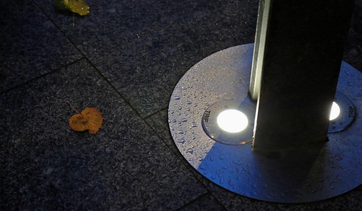 Грунтовые светильники TRIF LUNA