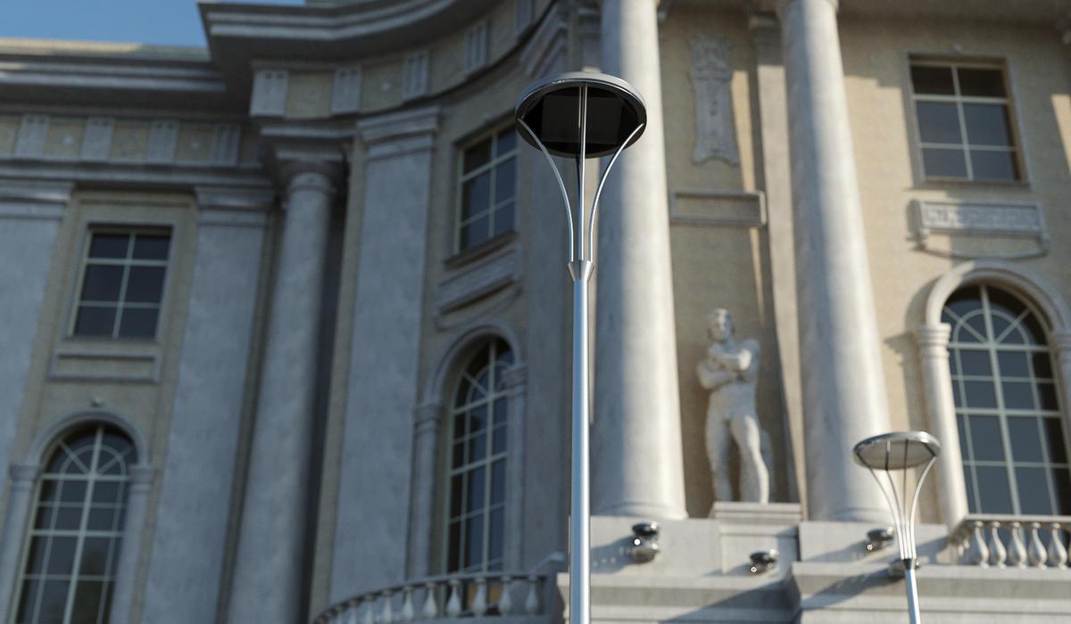 Столбы уличного освещения TRIF PALACE L под заказ в Спб