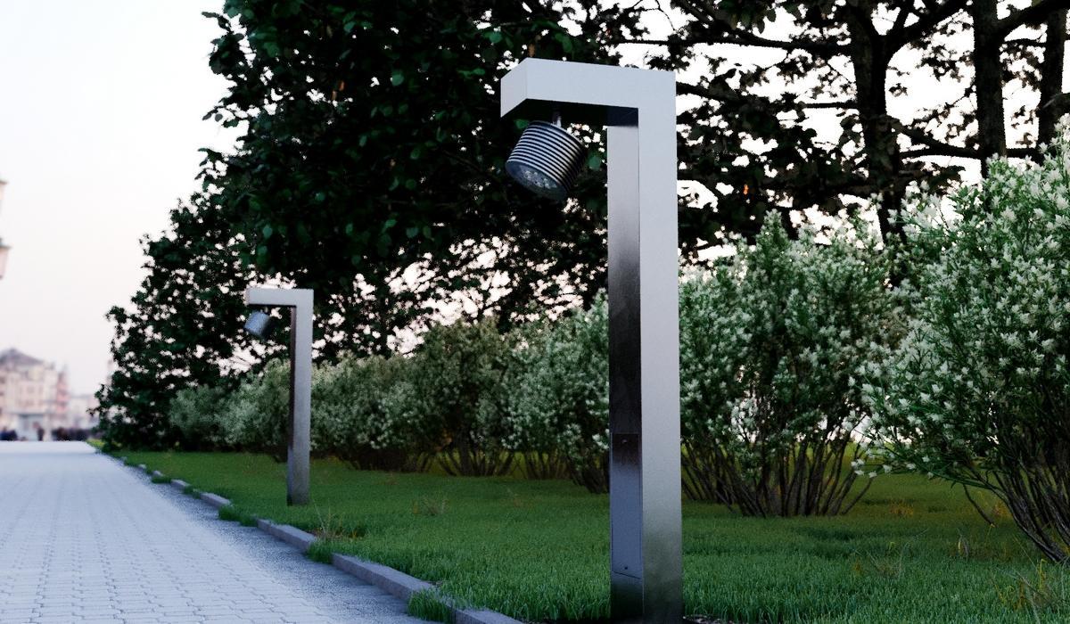 Освещение парковых дорожек от TRIF