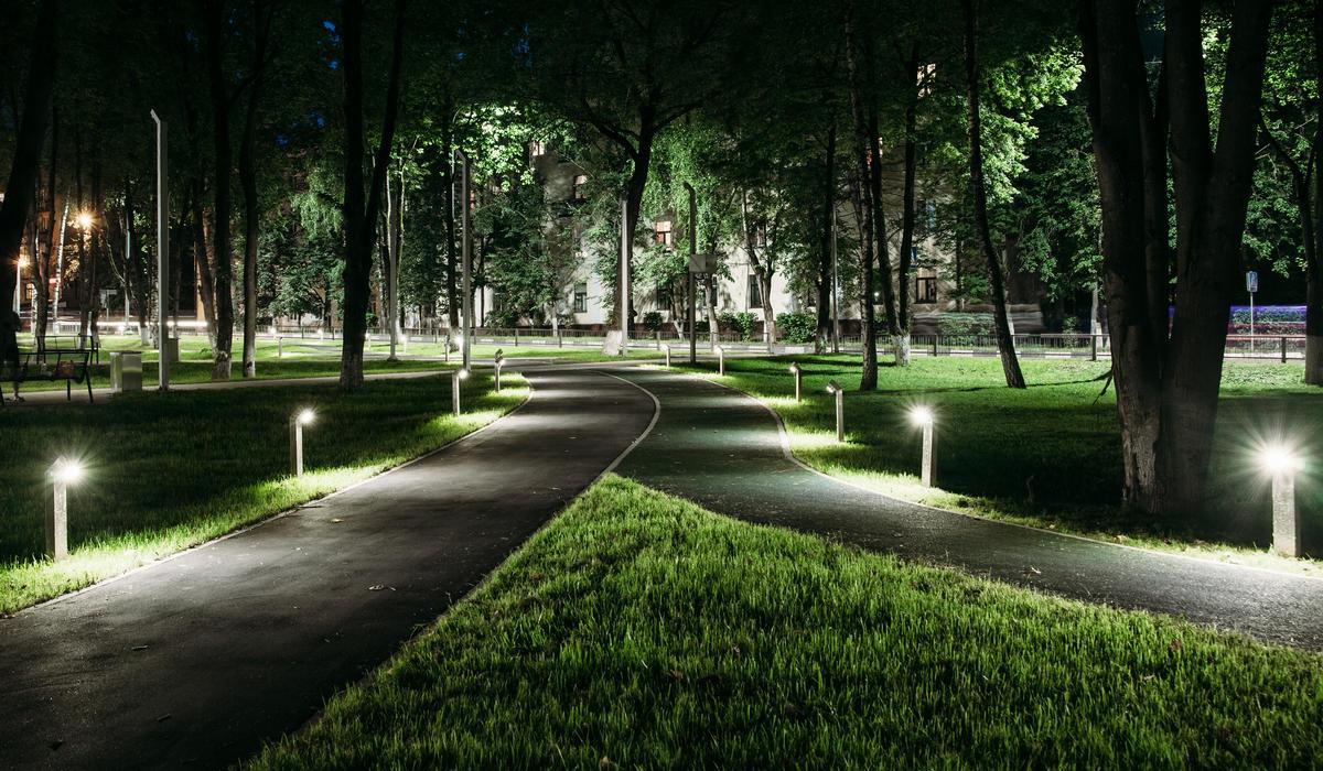 Нарофоминск сквер - Уличный светодиодный светильник TRIF ROCK JU