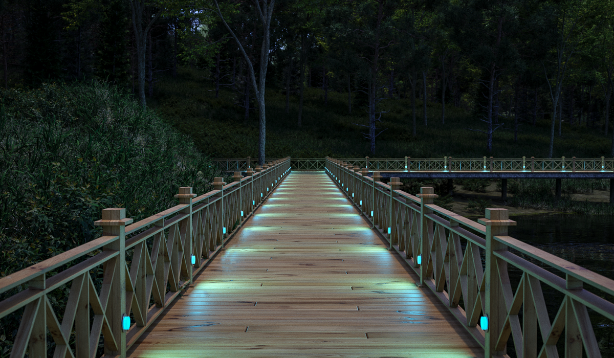 TRIF ROOF ROUND - светодиодные ландшафтные светильники