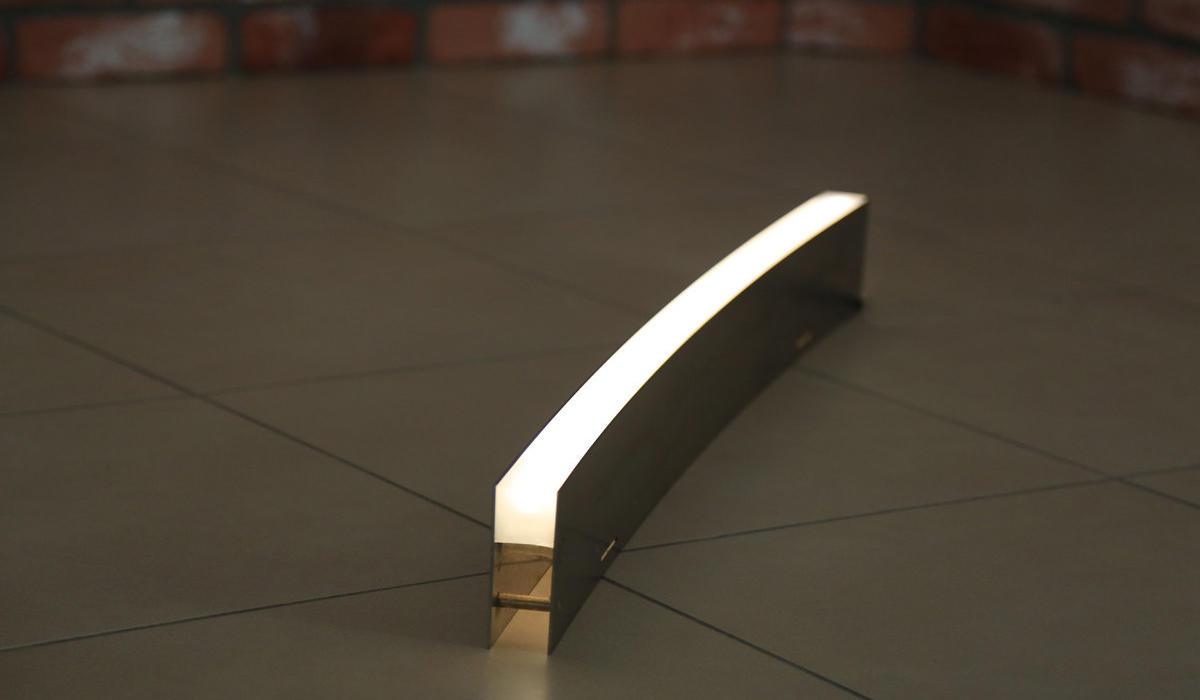 грунтовые линейные светодиодные светильники TRIF LANE RADIAL стандарта IP68 /+лёд