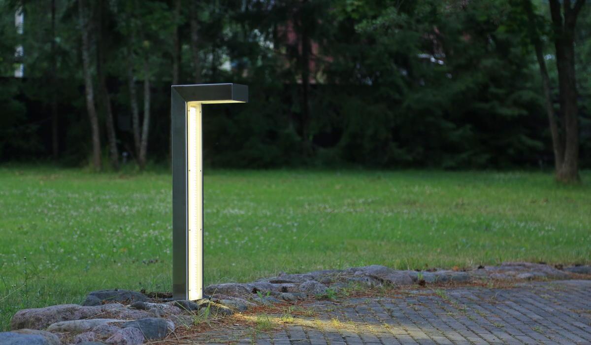 Парковые светильники-столбики TRIF SQUARE LONG 90 на заказ