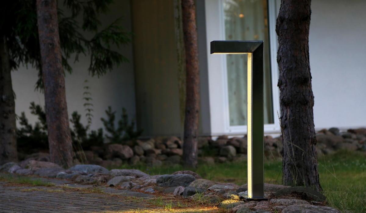 Парковые светильники-столбики TRIF SQUARE LONG 90