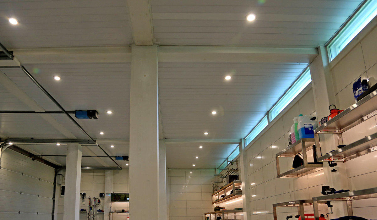 TRIF Super UNi - светодиодные прожекторы, встраиваемые в потолок