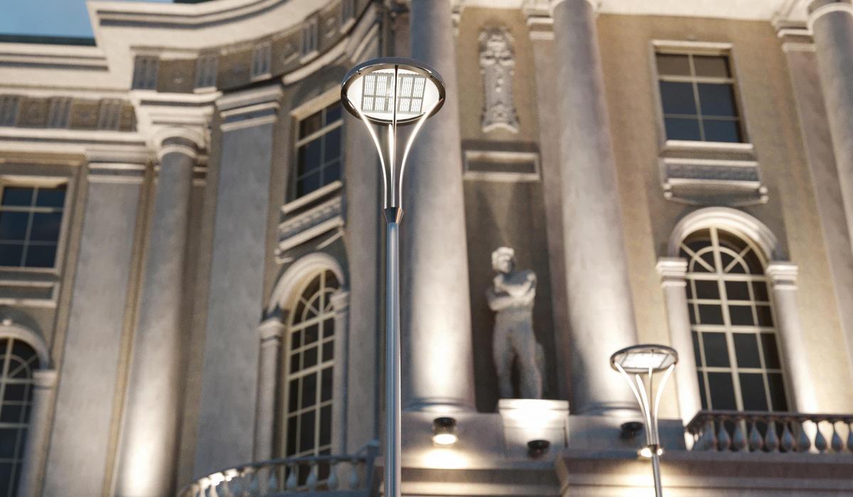 Столбы уличного освещения TRIF PALACE L