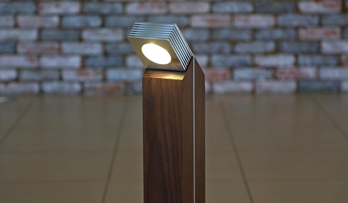 TRIF WOOD Q - деревянный светильник