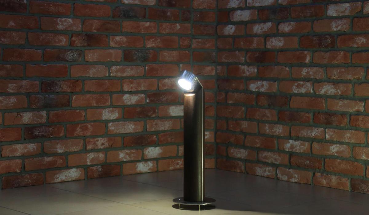 Светодиодный светильник из термодерева TRIF WOOD R 45 от производителя