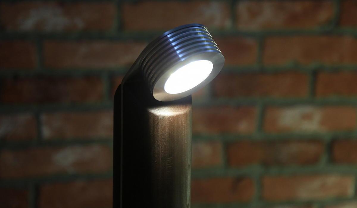 Светодиодный светильник TRIF WOOD R 45
