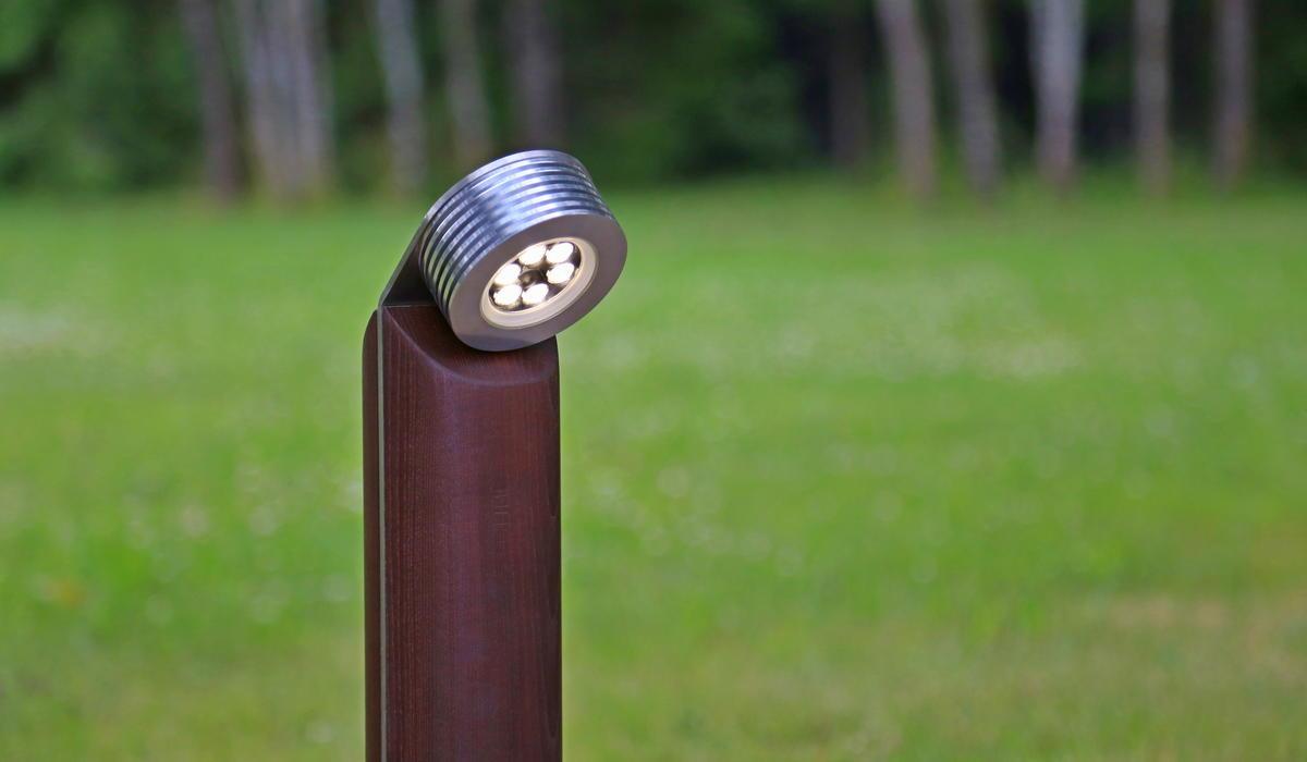 Светильник из термодерева TRIF WOOD R 45 на заказ