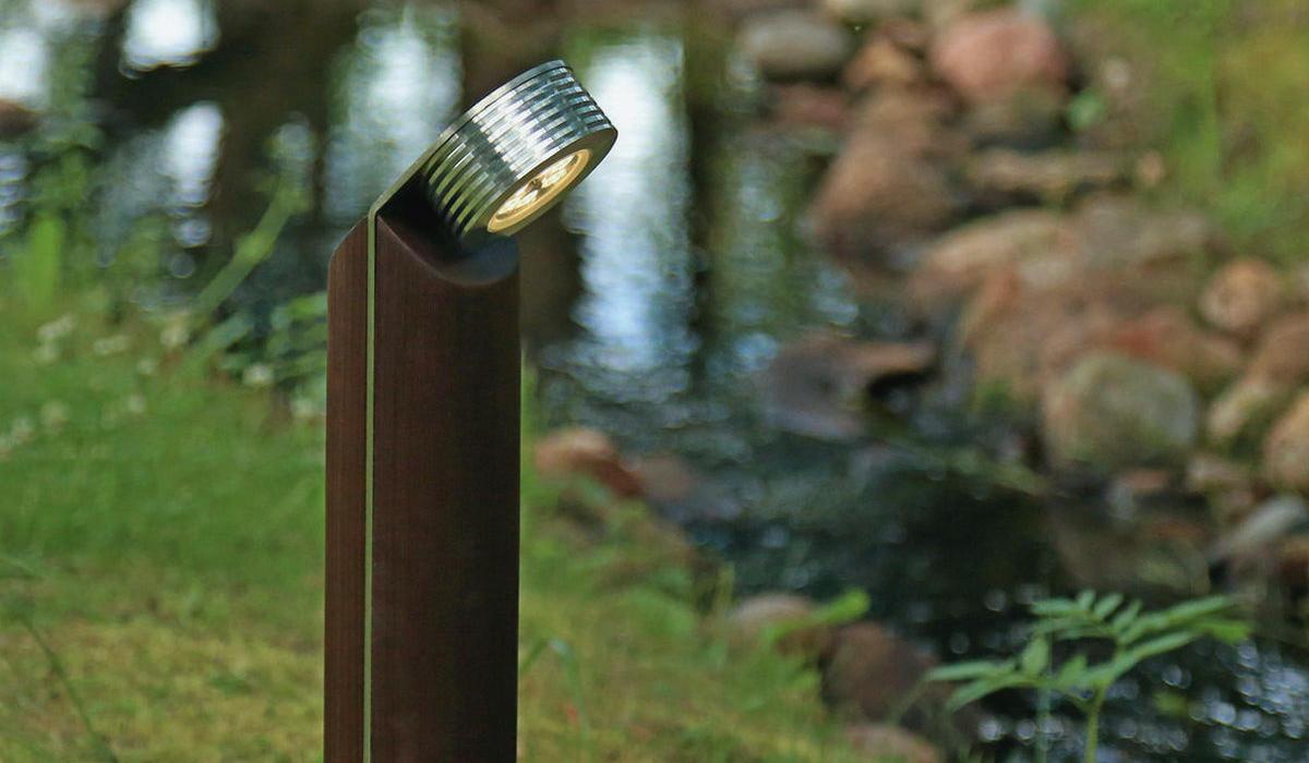 Светильник из термодерева TRIF WOOD R 45