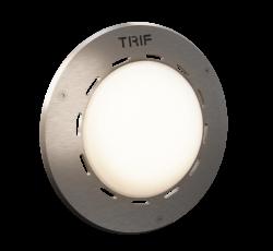 Абсолютно водонепроницаемый подводный светильник IP68. Не требует устройства закладных отверстий.