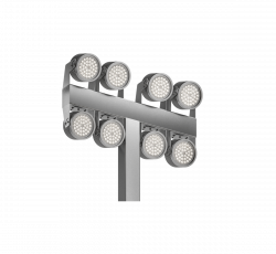 JUPITER COURT опоры LED освещения для спортивных площадок