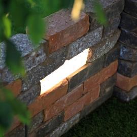Светодиодный кирпич для подпорных стен - TRIF BRICK