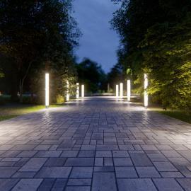 Ландшафтные светильники TRIF CANDLE