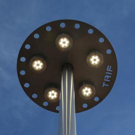 Светодиодные уличные столбы TRIF CITY от производителя