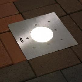 Прожектор в тротуар с защитой IP68