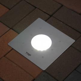 Прожектор для тротуара - яркое освещение с грунта