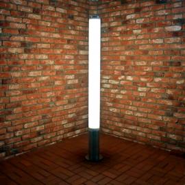 Ландшафтный антивандальный LED столбик TRIF CANDLE LONG на заказ