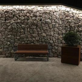Набережная в лагере Артек - подсветка TRIF