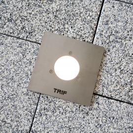 Уличные тротуарные светильники с квадратным фланцем TRIF LUNA Q