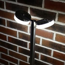 Изящный садовый светильник с двумя точками света TRIF OLIVA DUO
