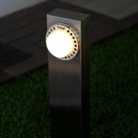 Уличный светодиодный светильник столбик TRIF ROCK