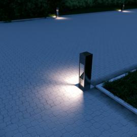 Герметичные светильники для ландшафтного освещения TRIF TETRA