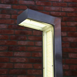 SQUARE LONG 90 - антивандальные LED столбики для парковых дорожек