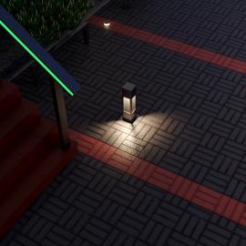 Водонепроницаемые светильники для ландшафтного освещения TRIF TETRA