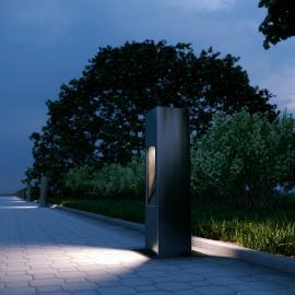 TRIF TETRA WAY - уличные столбики с двумя лучами света