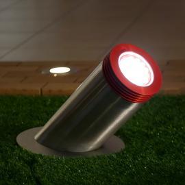 TRIF AURORA N мощный прожектор для архитектурной подсветки с грунта