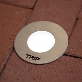 TRIF HARD серия светодиодных светильников встраиваемых в грунт IP68