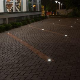 HARD встраиваемые в тротуар светильники от производителя, СПБ
