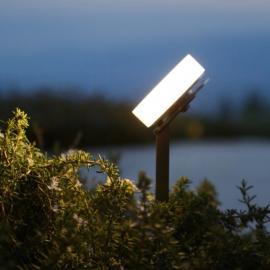 Индивидуальные уличные светильники на ножке для дачи TRIF OLIVA