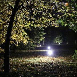 Индивидуальные светодиодные светильники на ножке для дачи TRIF OLIVA