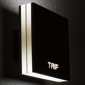 Настенные светодиодныесветильники TRIF QUADRO на заказ
