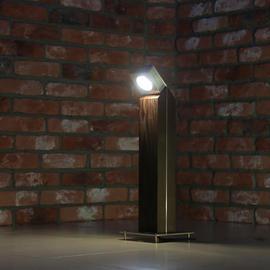 Деревянные светодиодные светильники столбики TRIF WOOD Q