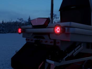 Светодиодные фонари для снегохода от производителя